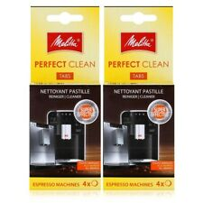Melitta Perfect Clean Espresso Machine Cleaning Tablets 4 X 1.8G Coffee 6545529