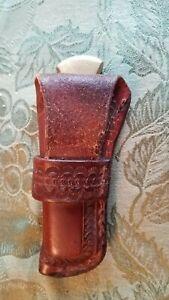 Buck 110 with custom sheath