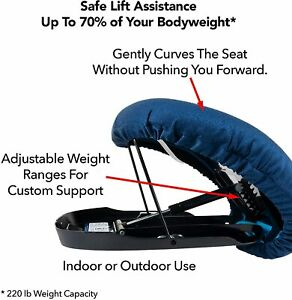 Carex Upeasy Seat Assist Plus / Up to 220  Pounds, Provides 70% Assistance