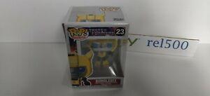 Funko Pop! Transformers BUMBLEBEE Vinyl Figure #23 Retro Toys 2020 Damaged Box