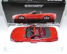 Mercedes-benz sl clase class 2009 r230ii rojo red Minichamps 100037530 1:18
