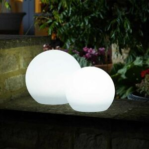 Large Lunieres Orb colour changing solar lights