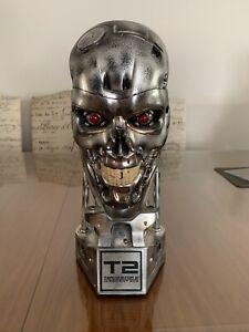 Terminator T800 Combat Endoskeleton skull Colour Silver