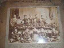 Old photograph Gillingham schools football champions Wesleyan Schools 1906 1907