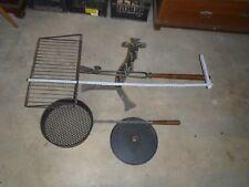 Griglia per brace regolabile in ferro battuto 100 cm barbeque grill da SVIZZERA
