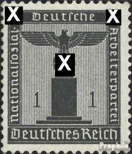 Imperio Alemán d155 nuevo 1942 sello de franqueo oficial