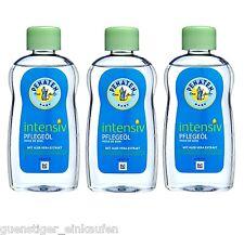 ( 21,65€/ L) 3x 200ml PENATEN Bebé Intensivo Aceite Aromatizado ALOE VERA secos