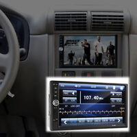 """2 Din 7"""" Touch Screen FM Bluetooth Radio Audio Stereo Car Video Player&HD Camera"""