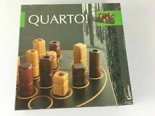 Quarto! Board Game Gigamic 1991 Excellent Complete Quarto Strategy 2 Player Wood