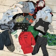 Huge lot of 3m (three month) baby boy clothes lightly used
