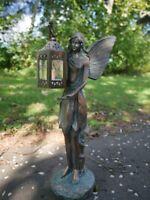 Large Fairy Angel Garden Ornament Tree Decoration LED Outdoor Figure Statue