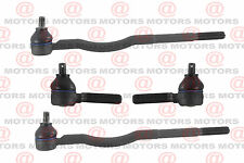 1998 Chevrolet Tracker Steering Inner & Outer Tie Rod Ends Free Shipping 1.6L