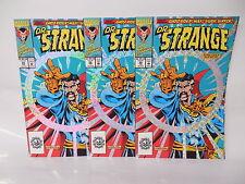 Dr. Strange Marvel Comic Book 50 X3 Silver Foil Cover Ghost Rider Hulk Isherwood