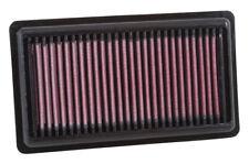 K&N HIGH FLOW AIR FILTER 33-3046 FOR Fiat 500 & Panda 0.9 (exc. Turbo) 2012-17