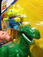 Imaginext Disney Pixar Toy Story Rex, Hamm & Alien Figure NIP Fisher-Price Set