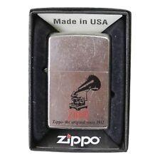 More details for new original genuine zippo lighter model 28566 phonograph year 2013