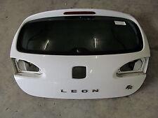 Heckklappe Seat Leon 1P 2.0TDI FR Modell 2008 Lackcode: LB9A  CandyWeiß