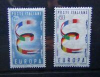 Italy 1957 Europa set MNH
