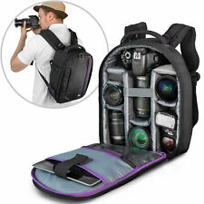 Camera Backpack Bag Case for Canon Nikon Sony DSLR & Mirrorless by Altura Photo
