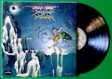 URIAH HEEP Demons and Wizards SRM 1 630   SIGNED AUTOGRAPHED VINYL RECORD LP