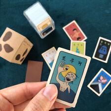 Korean Traditional Playing Cards Movie Edition Plastic Case Hwatu Souvenir Gift