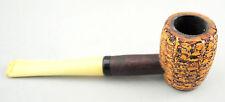 Vintage Tobacco Pipe Poker Pipe Ornate Bowl