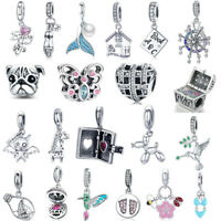 European Bead Charms Pendant For 925 Sterling Silver Bracelet Necklace Chain
