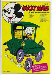 Micky Maus Nr.10 vom 7.3.1970 mit Bundesligastars, Ausklappseiten - TOP Z1