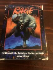 Rage The Werewolf Trading Card Game Starter Deck Plus Two Expansion Packs