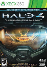 Halo 4 -- Game of the Year Edition (Microsoft Xbox 360, 2013) GOOD