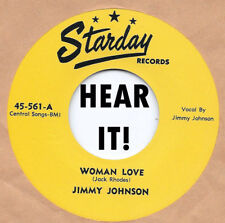 Rockabilly Repro: JIMMY JOHNSON-Woman Love STARDAY