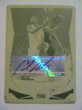 2004-05 Topps Chrome Carmelo Anthony Nuggets Syracuse NY Knicks Auto 1/1