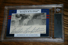 2012 Leaf Cut Prime Cuts SP Sport Icons Fred Lindstrom HOF Auto 1/1
