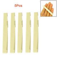 5 Pz ponticello delle corde di plastica per Chitarra Acustica   HK