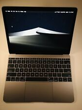 Apple MacBook 12 Retina Space Gray  osx 2018 2019 Apple care