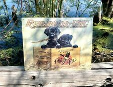 Remington Finders Keepers metal tin sign W/ FREE PATCH man cave wall decor art