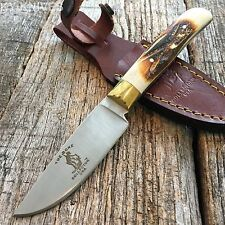 "7.5"" BONE COLLECTOR FIXED BLADE SKINNING KNIFE Hunting Bowie BONE BC-790"