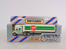 Matchbox Convoy Scania 7 UP Tractor Trailer Item CY16 New