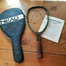 "Vintage Head ""Vector"" Racquetball Racket with Case and Official Rules Booklet"