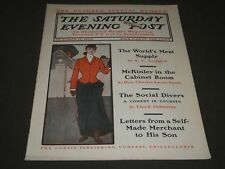 1902 OCTOBER 11 THE SATURDAY EVENING POST MAGAZINE - ILLUSTRATED COVER- SP 1062