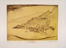 Sepp Frank Amalfi Salerno Positano Ravello POMPEI Vesuvio Vesuvio espressionismo