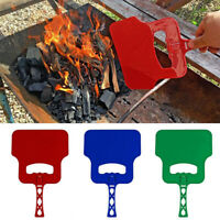 Combustion-supporting Hand Manual Outdoor Fan Blower Cooking Barbecue Grill MW
