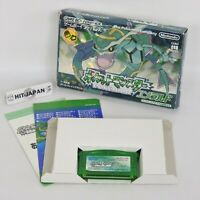 Gameboy Advance POKEMON EMERALD The BEST No Instruction ccn 132  Nintendo gba