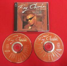 RAY CHARLES THE GENIUS 1993 ARCADE 302596 COMPILATION BON ÉTAT 2X CD