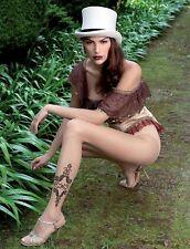 Trasparenze Kelli Strumpfhose Tatto-Motiv Natur