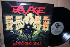Ravage Wrecking Ball LP EX+ Vinyl Metal
