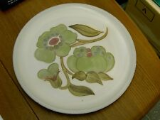 """Large Denby Troubadour Serving Platter / Charger  12 1/4"""" Dia In Good Condition"""