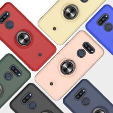 For LG K40S K20 2019 Durable Transparent Mobile Phone Case Magnetic Ring Bracket