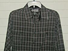 Independent Truck Company Men's Size Long Sleeve Button Front Shirt