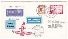 Graf ZEPPELIN-5th SOUTH AMERICA FLIGHT-BERLIN 18/8/33-TO RIO DE JANEIRO-